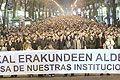 Zehntausende demonstrierten in Bilbao