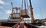 2.000 Tonnen Hilfsmittel für Gaza geladen