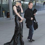 Lady Gaga liebt gewagte Latexoutfits