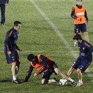 Spanien gegen Paraguays Abwehrbeton um Halbfinal-Einzug