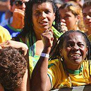 Brasilien nach Out im Schockzustand