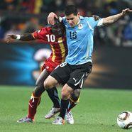 WM 2010: Dramatik und Elferkrimi -Uruguay erreichte Halbfinale
