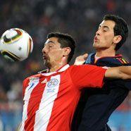 Spanien gewinnt 1:0 gegen Paraguay