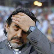 Argentiniens Coach Maradona lässt Zukunft offen