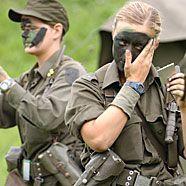 Soldatinnen bleiben nicht lange beim Heer