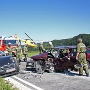 Salzburger Pensionist stirbt bei Frontalcrash in Oberösterreich