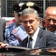 Rummel im Mailänder Gericht: Clooney sagt als Zeuge aus