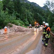 Überschwemmungen in Maria Alm