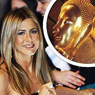 Jennifer Aniston spricht mit Buddha