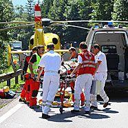 Schwerer Verkehrsunfall auf der S16