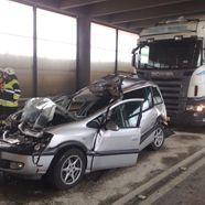 Salzburger Familie bei schweren Unfall in Vorarlberg verletzt