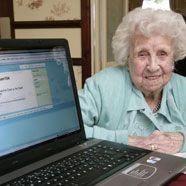 Wohl älteste Twitterin der Welt tot