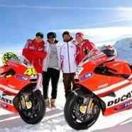 Diesel-Ducati-Kombi in der MOTO GP