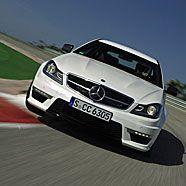 Mercedes-Coupé für die Rennstrecke