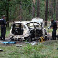 Zwei verkohlte Leichen in Auto entdeckt