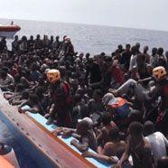 1600 Flüchtlinge in zwei Tagen auf Lampedusa eingetroffen