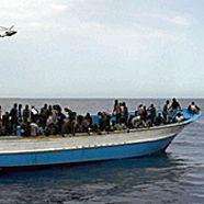 Wieder 274 Migranten auf Lampedusa eingetroffen