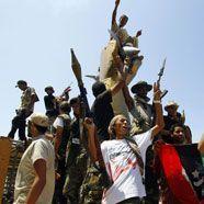 Libyen-Rebellen: Wir kontrollieren 95 Prozent des Landes