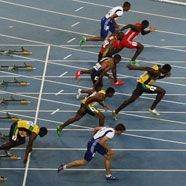 Fehlstart von Bolt: Landsmann Blake gewann WM-Gold über 100 m