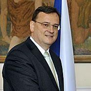Tschechiens Premier Necas stellt Euro-Einführung infrage