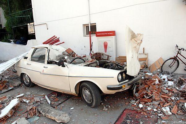 Erdbeben versetzte Menschen in Angst und Schrecken