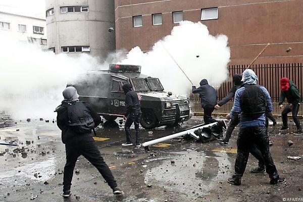 Heftige Proteste gegen Pinochet-Gedenken