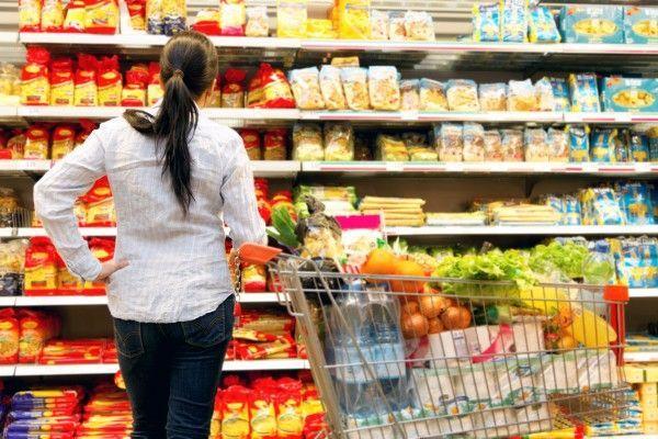 Die Inflation kühlte im Mai etwas ab. Nahrungsmittel tragen verhältnismäßig wenig auf.
