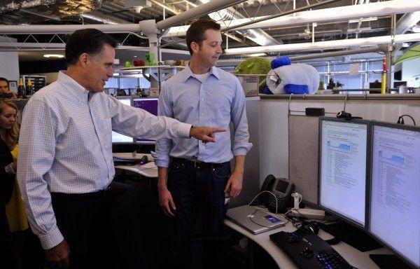 Der war's: Mitt Romney wurde Opfer eines Cyber-Angriffs.