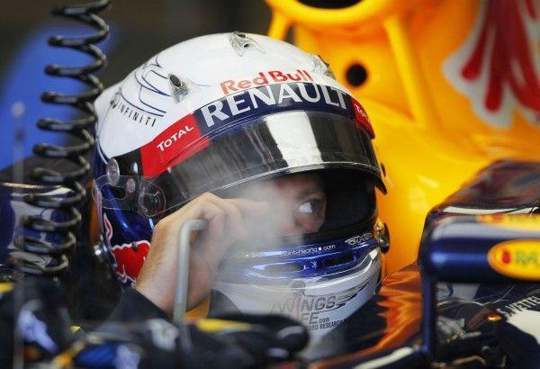 Vettel scheidet vorzeitig in Valencia aus.