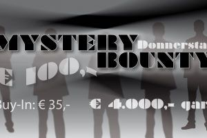 Mystery Bounty am Donnerstag