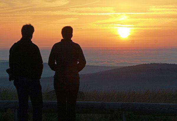 Wenn Nebel vorherrscht und sich die Sonne nur selten zeigt, heißt es aktiv werden, um die Stimmung zu heben