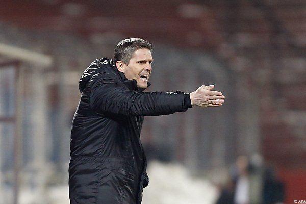 Admira-Coach Kühbauer über Referee verärgert
