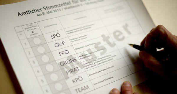 Landtagswahl in Salzburg: Fast ein Dritten der Wahlberechtigten sind über 60 Jahre alt.