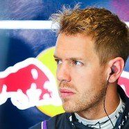 Vettel im Barcelona-Training vor Alonso