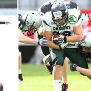 Austrian Football League: Siege für Giants und Raiders am Samstag