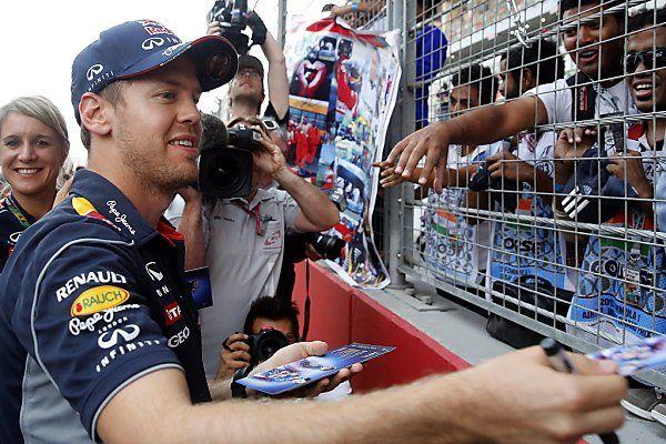 Drittes Formel-1-Rennen in Indien