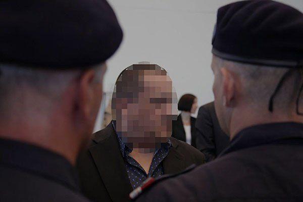Michael K. beim Prozess in Korneuburg