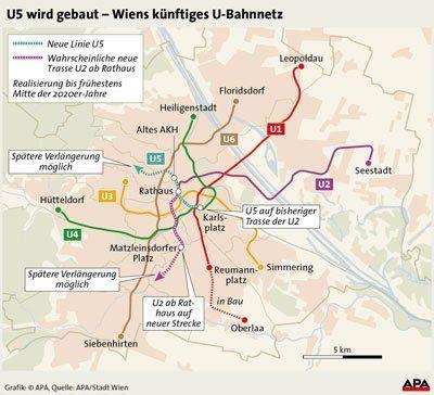 U5 Wird Gebaut Die Reaktionen Zur Neuen U Bahn In Wien Wien 1