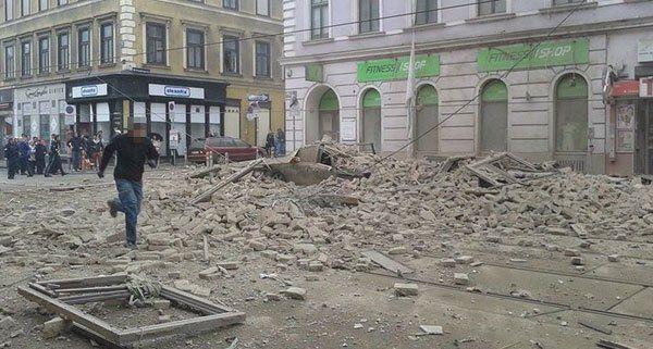 Eine Person Nach Explosion In Wien F 252 Nfhaus Versch 252 Ttet Vienna At