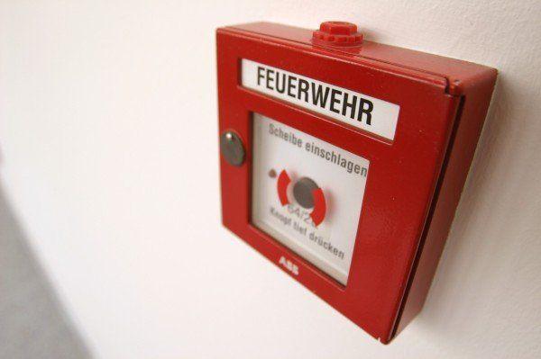 Der Brandmelder im Pensionistenheim schlug Alarm.
