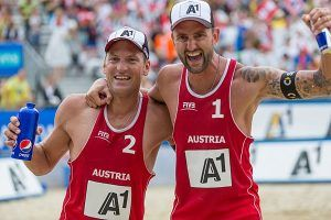 Beach-Volleyball Grand Slam: Doppler/ Horst mit gelungenem Comeback