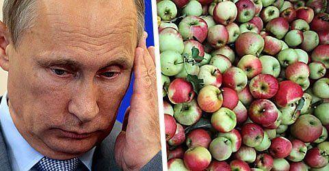 """""""Iss Äpfel gegen Putin!"""" - Aufruf zum Verzehr heimischer Äpfel"""