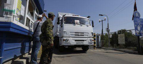 Ukraine wirft Russland Invasion vor - Streit um Konvoi eskaliert