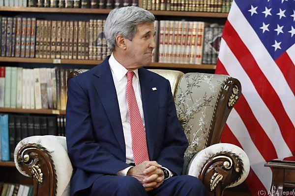 Kerry mit diplomatischer Offensive