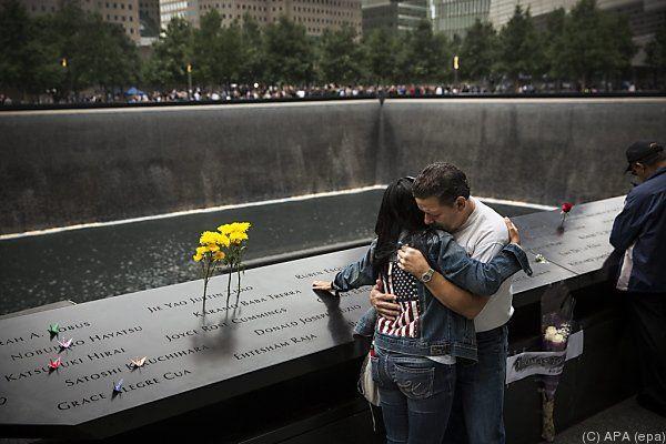 Trauer und Gedenken am sogenannten Ground Zero