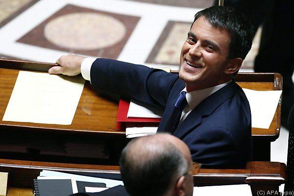 Manuel Valls kann vorerst durchatmen