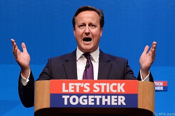 Cameron appellierte einmal mehr an dien Schotten