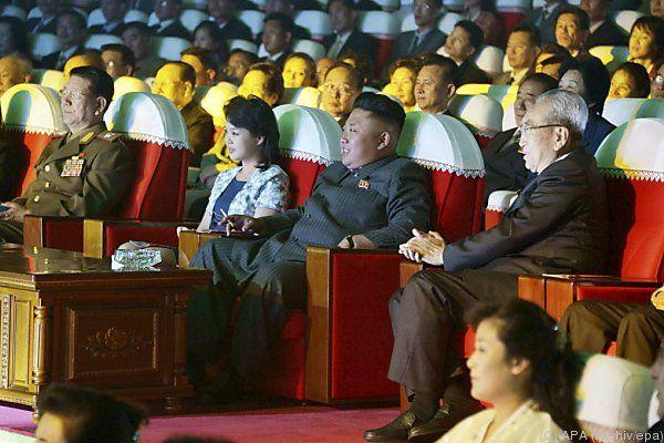 Letzter Auftritt des Machthabers bei einem Konzert