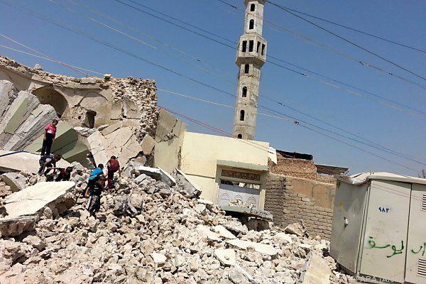 Zerstörung religiöser Stätten nicht ungewöhnlich