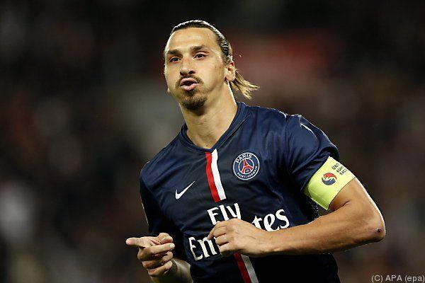 Ibrahimovic hält nun bei 50 Team-Toren